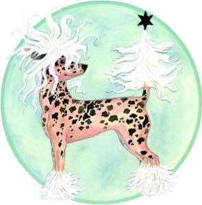 pink dog Choc Logo